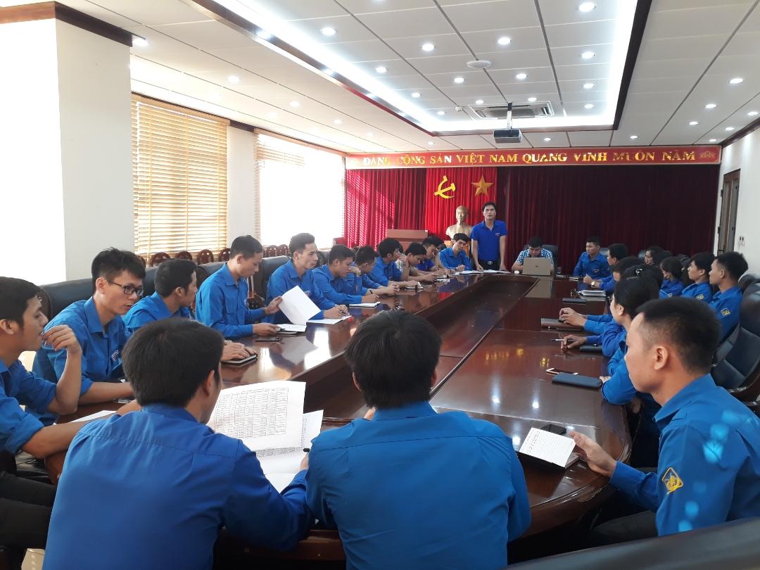 Hội nghị sơ kết công tác Đoàn quý III, triển khai phương hướng nhiệm vụ công tác Đoàn tháng 10 quý IV năm 2018