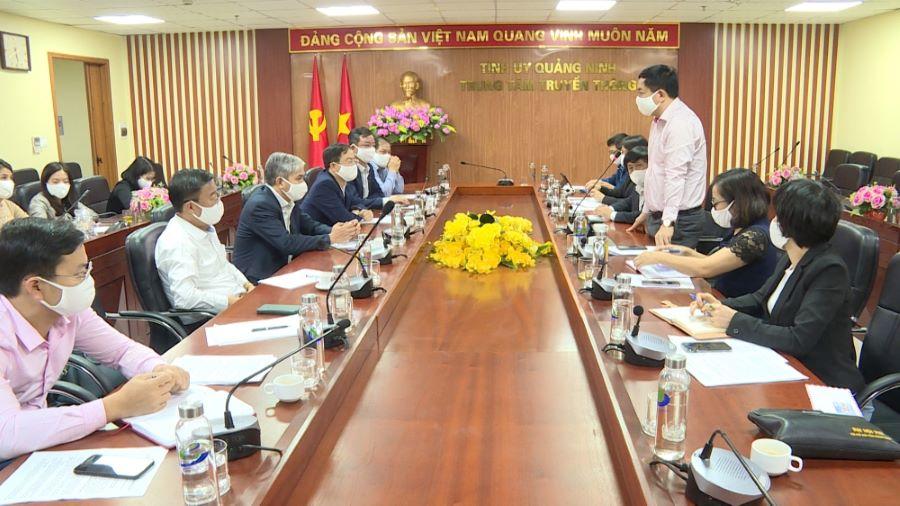 Trung tâm Truyền thông tỉnh và TKV tăng cường phối hợp truyền thông trong năm 2020.