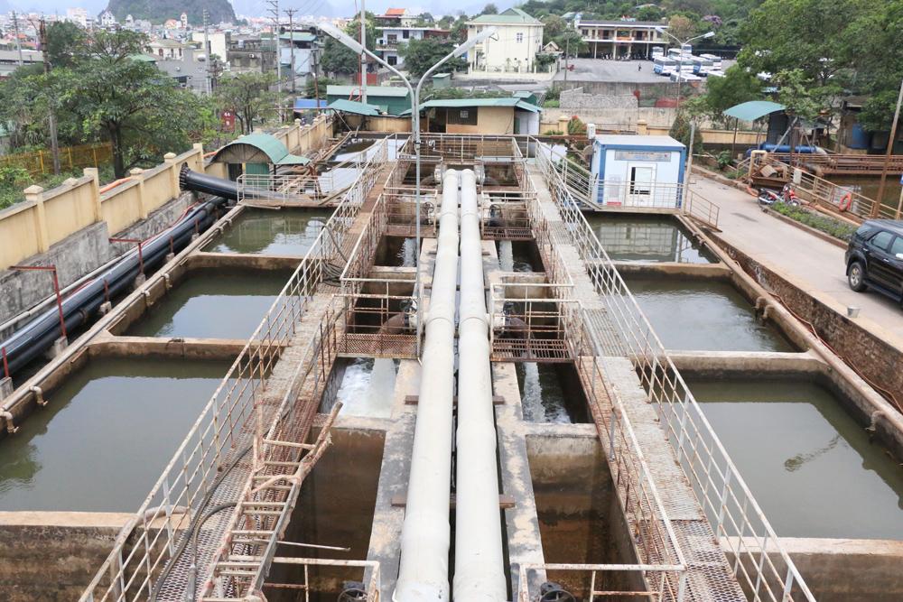 Trạm xử lý nước thải mức +25 Núi Nhện (TP Cẩm Phả) là một trong 45 trạm xử lý nước thải mỏ được TKV đầu tư, đã đi vào hoạt động.