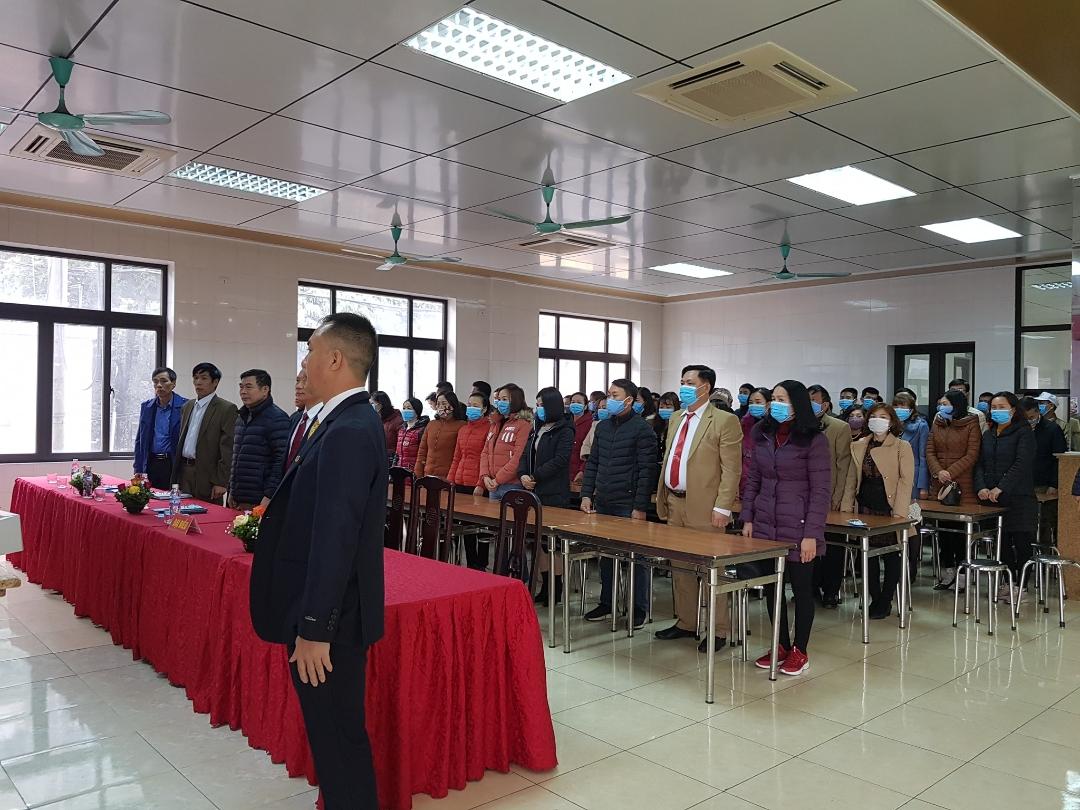 Hội nghị Người lao động Phân xưởng STT thành công tốt đẹp